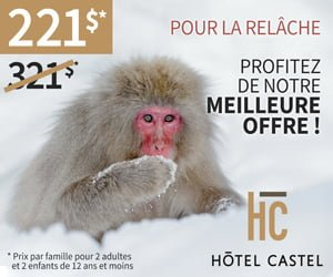 Castel zoo hiver