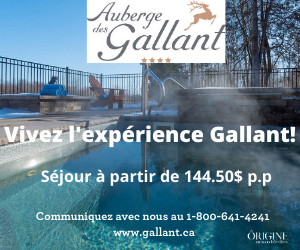 Auberge des Gallant – avril 2021